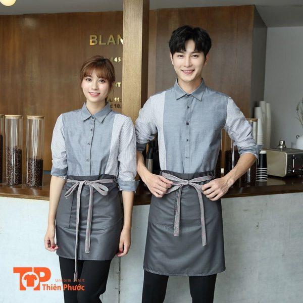 đồng phục tiệm cafe đẹp