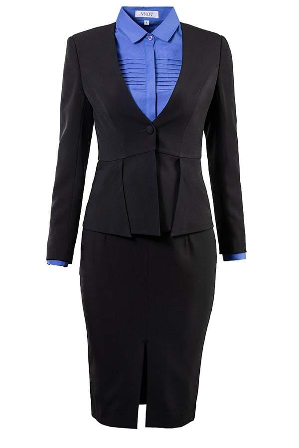 đồng phục vest nhân viên văn phòng nữ
