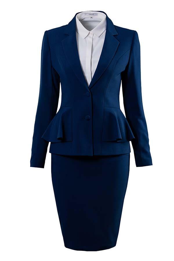 đồng phục vest văn phòng nữ thiết kế đẹp