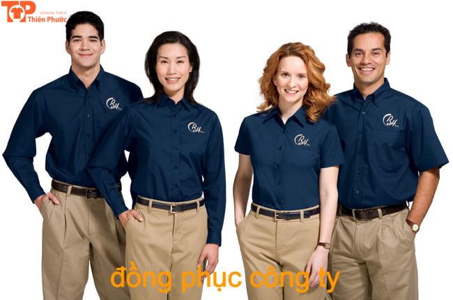 gắn kết nhân viên nhờ áo đồng phục công ty