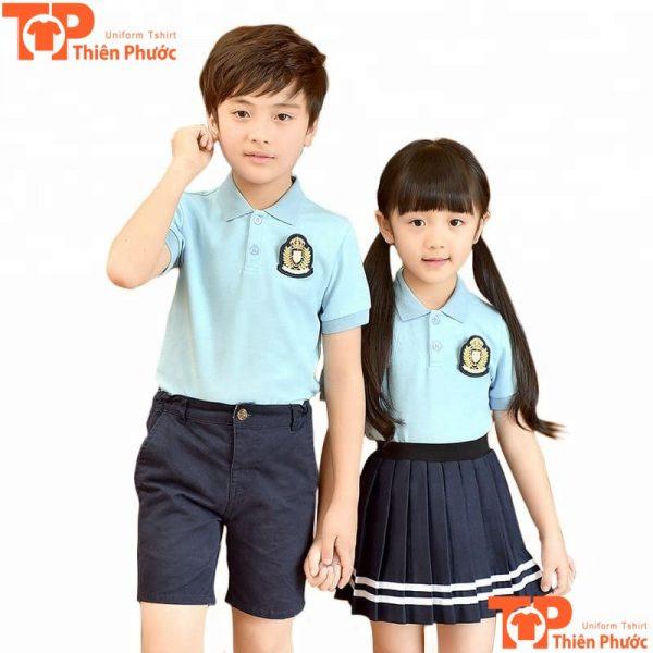 mẫu áo đồng phục học sinh mầm non đẹp