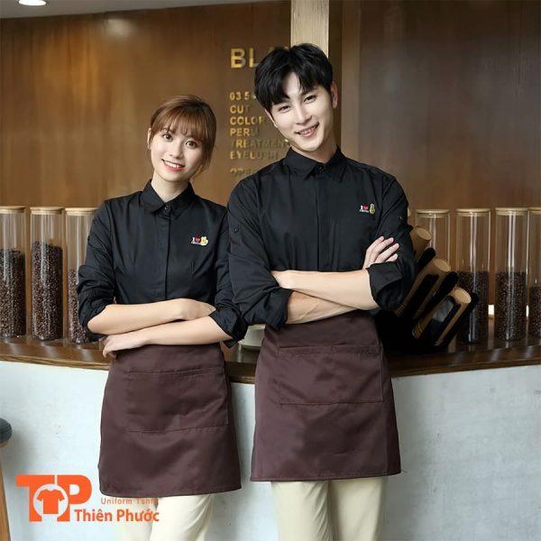 mẫu áo thun đồng phục quán cafe đẹp