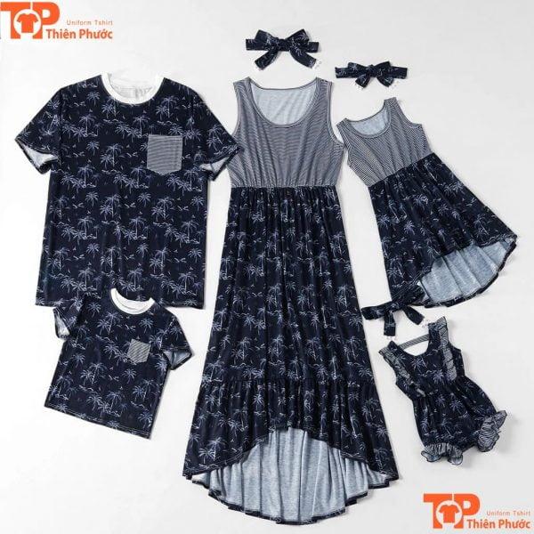 mẫu áo váy gia đình chất lượng