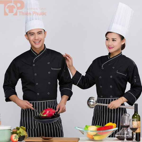 Mẫu đồng phục bếp đẹp