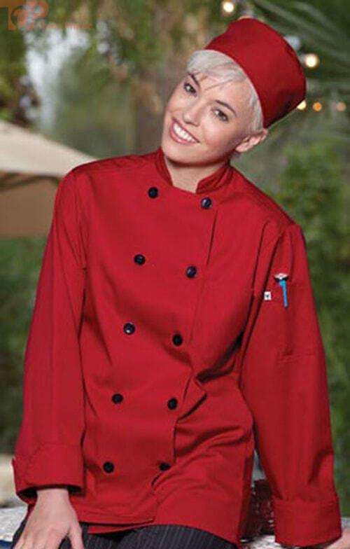 Mẫu đồng phục bếp nhà hàng