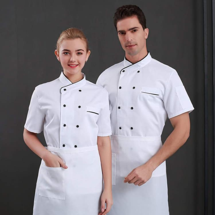 mẫu đồng phục đầu bếp bánh