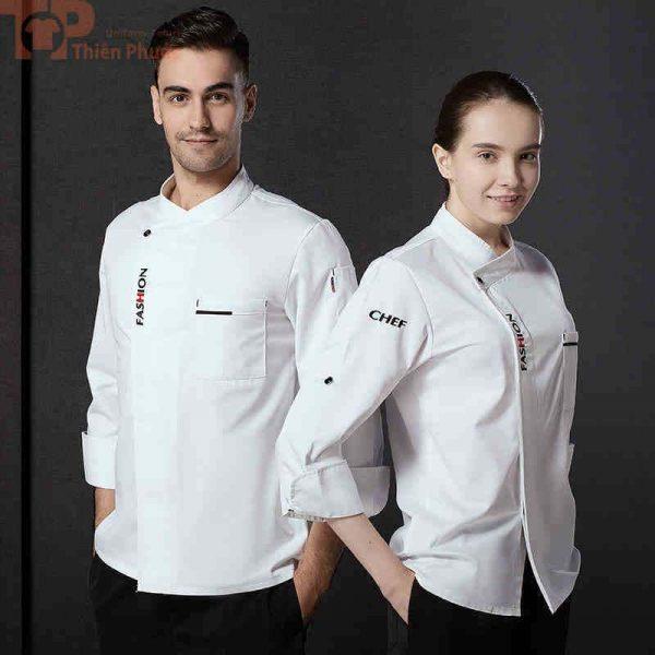 Mẫu đồng phục đơn giản cho bếp