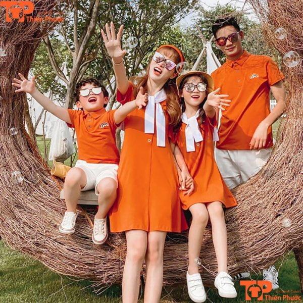 mẫu đồng phục gia đình cao cấp