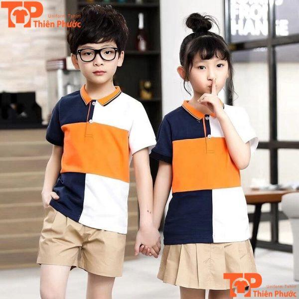mẫu đồng phục học sinh mầm non dễ thương