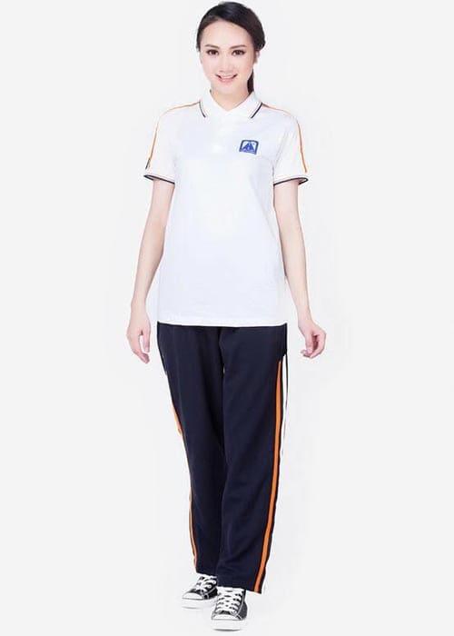 mẫu đồng phục thể thao học sinh trung học