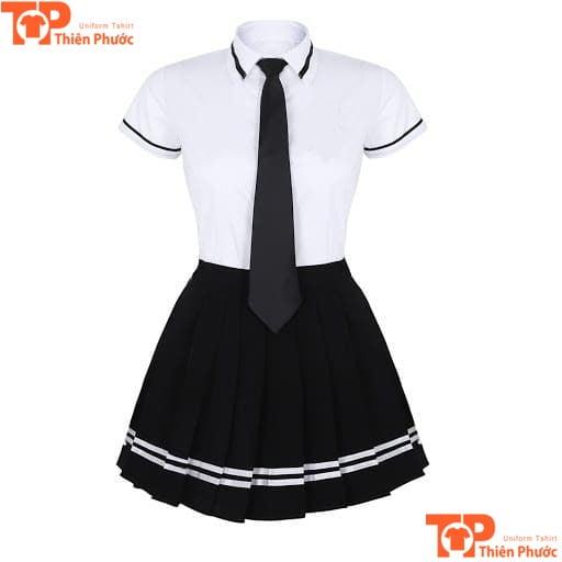 mẫu đồng phục mầm non đầm xỏe