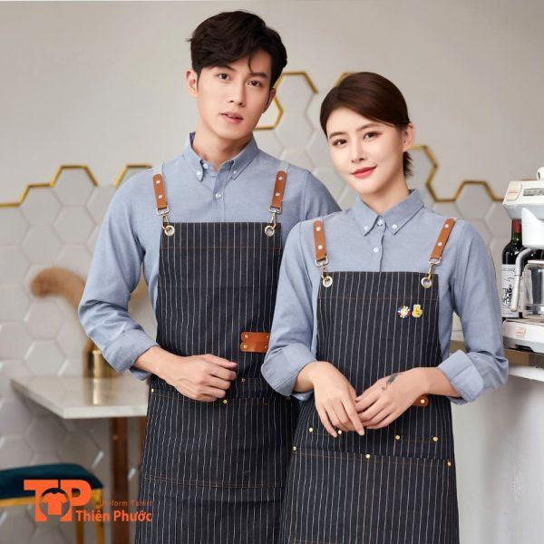 mẫu đồng phục quán cafe đẹp