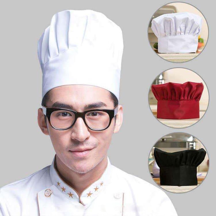 mẫu nón đầu bếp