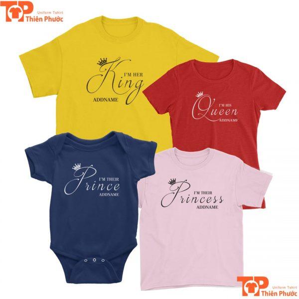 mẫu quần áo gia đình cho bé dưới 1 tuổi