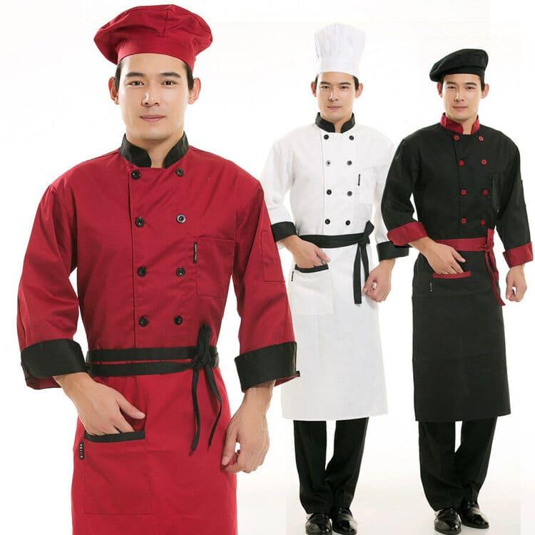 phối quần bếp với áo bếp