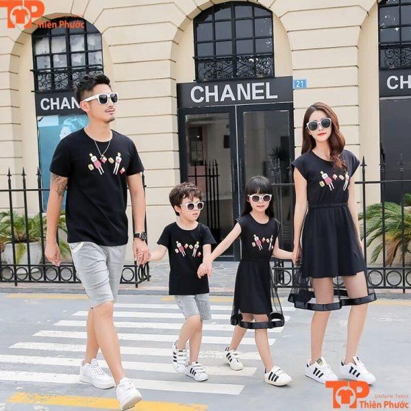quần áo gia đình đi chơi cao cấp