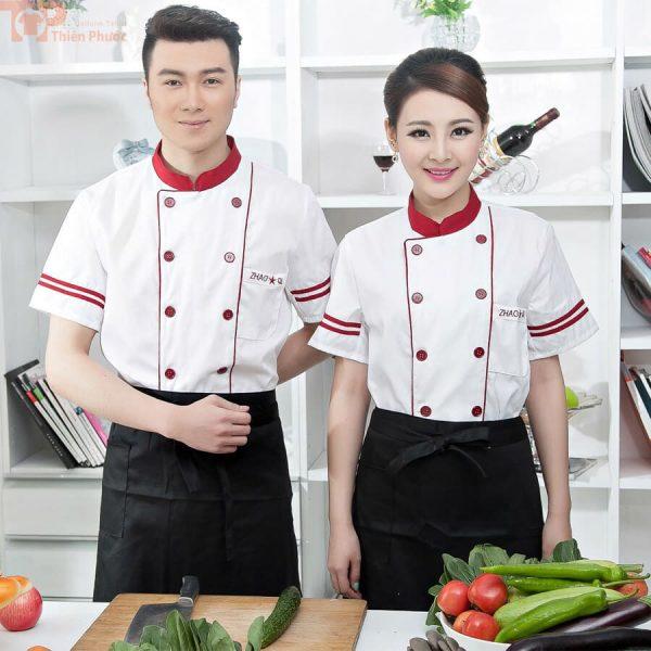 Trang phục bếp cho nam nữ