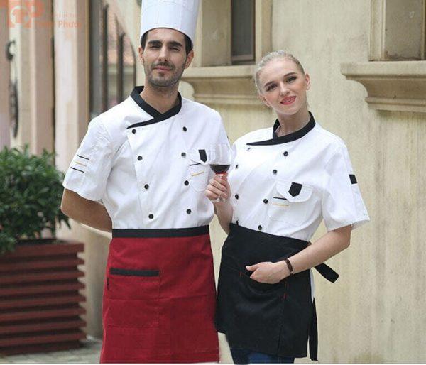 Trang phục bếp đơn giản