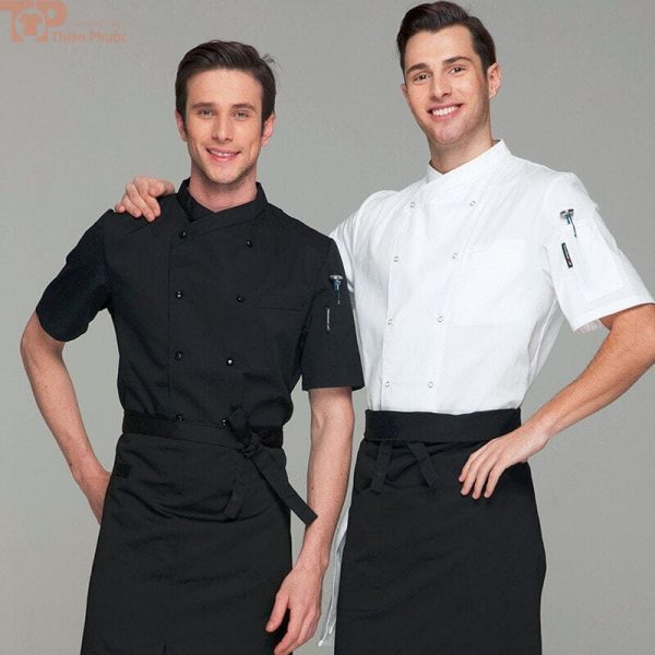 Trang phục bếp nam đẹp