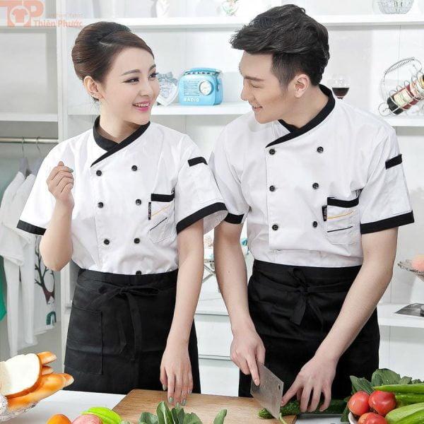 Trang phục đầu bếp cho nam nữ