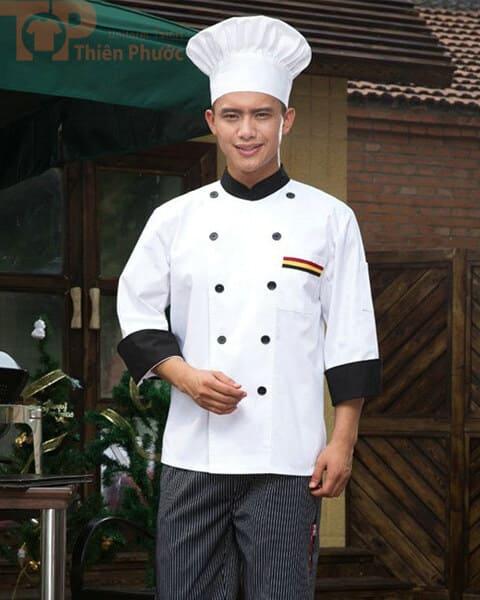 Trang phục đầu bếp nam