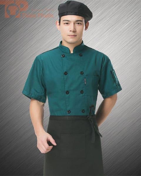 Trang phục đầu bếp nhà hàng nam