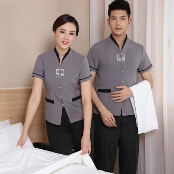 xưởng may áo đồng phục nhà hàng khách sạn