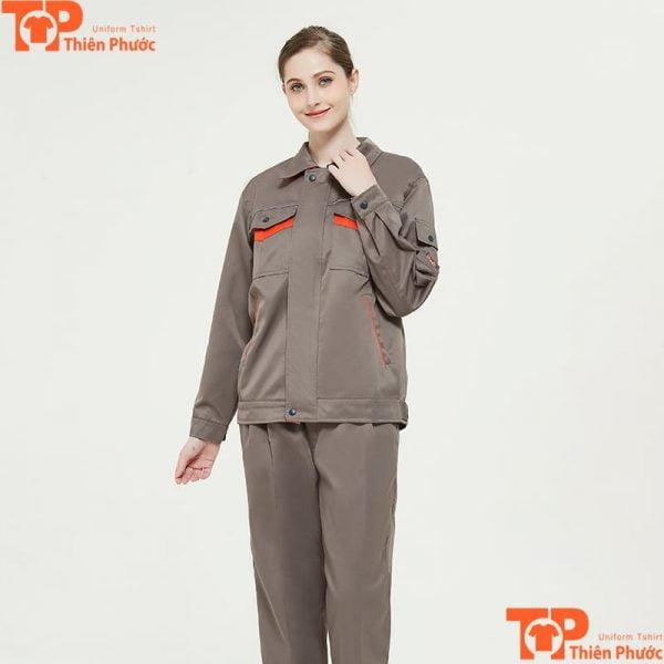 áo bảo hộ lao động cho nữ