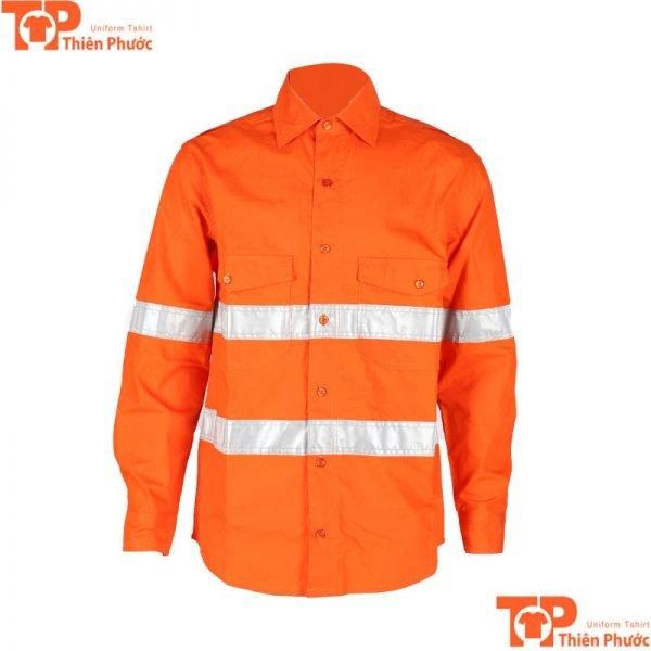 áo đồng phục bảo hộ lao động phản quang