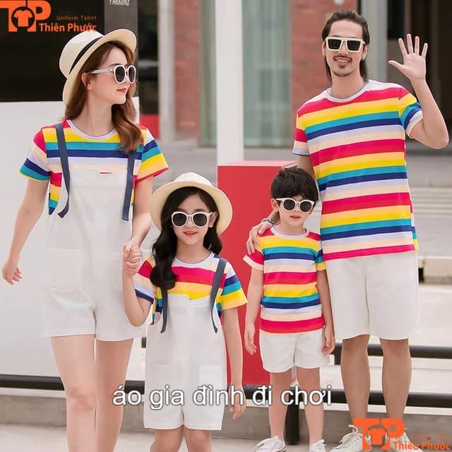 áo đồng phục gia đình đi chơi