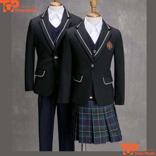 Áo đồng phục học sinh mẫu cao cấp