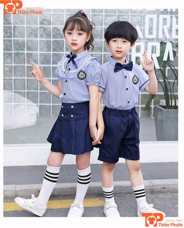 Áo đồng phục học sinh tiểu học đẹp