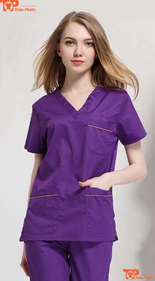 áo đồng phục nhân viên spa đẹp