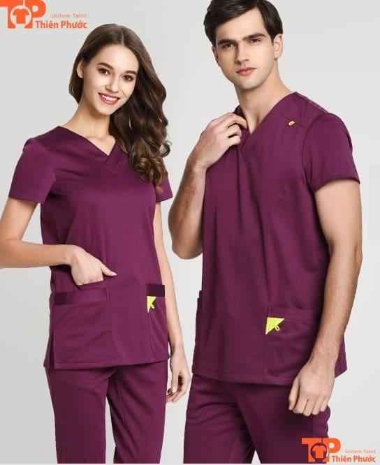 áo đồng phục spa cho nam nữ đẹp