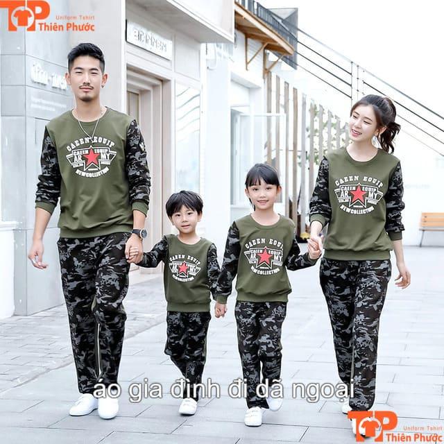 áo gia đình dã ngoại