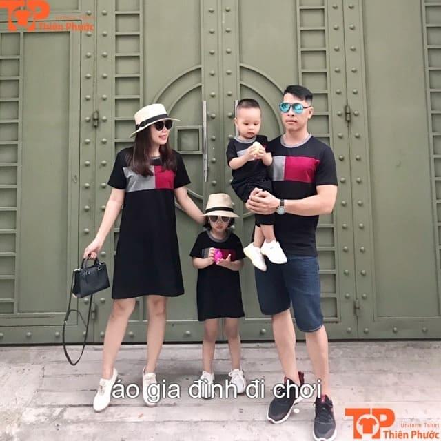 áo gia đình đi chơi