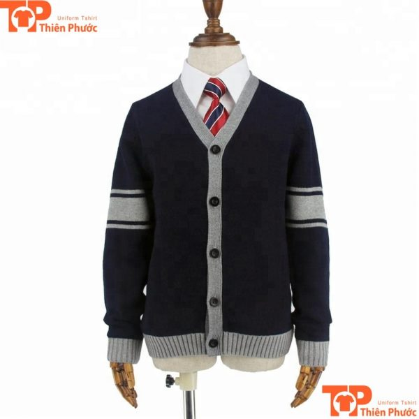 Áo len đồng phục học sinh cấp 3