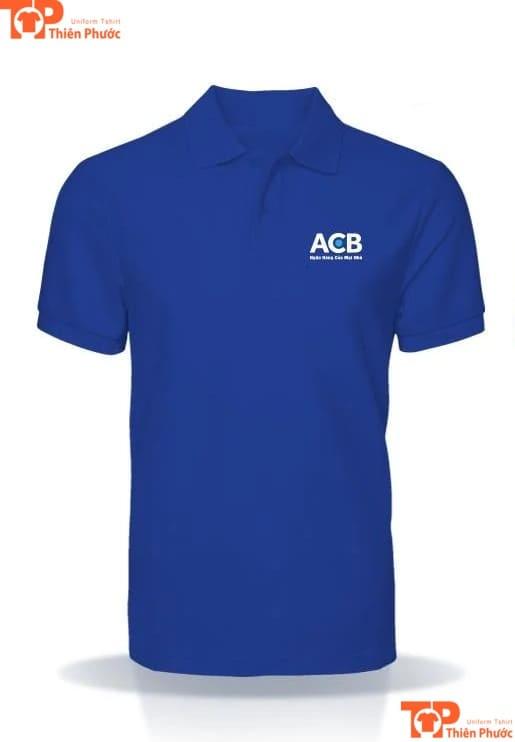 áo thun đồng phục ngân hàng acb á châu
