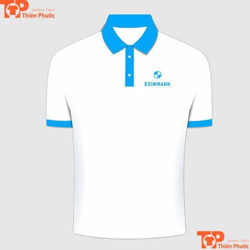 áo thun đồng phục ngân hàng eximbank