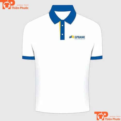 áo thun đồng phục ngân hàng gpbank dầu khí