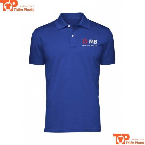 áo thun đồng phục ngân hàng mb quân đội