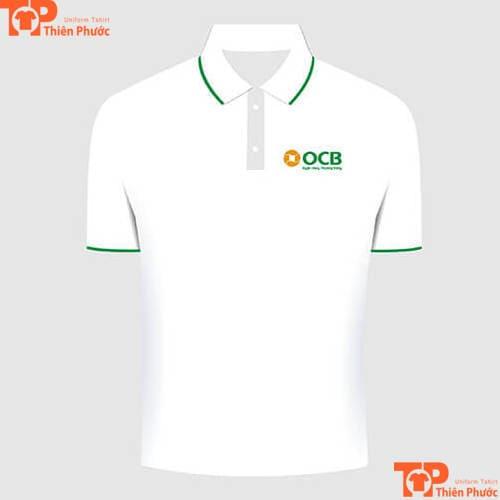áo thun đồng phục ngân hàng phương đông ocb