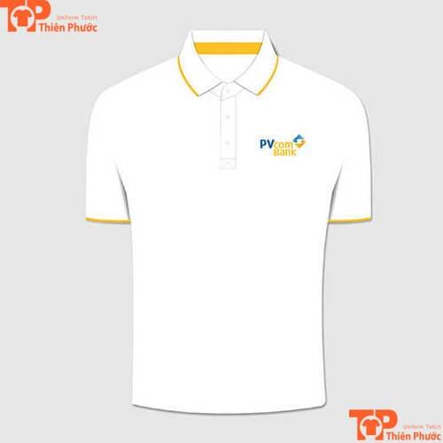 áo thun đồng phục ngân hàng pvcombank