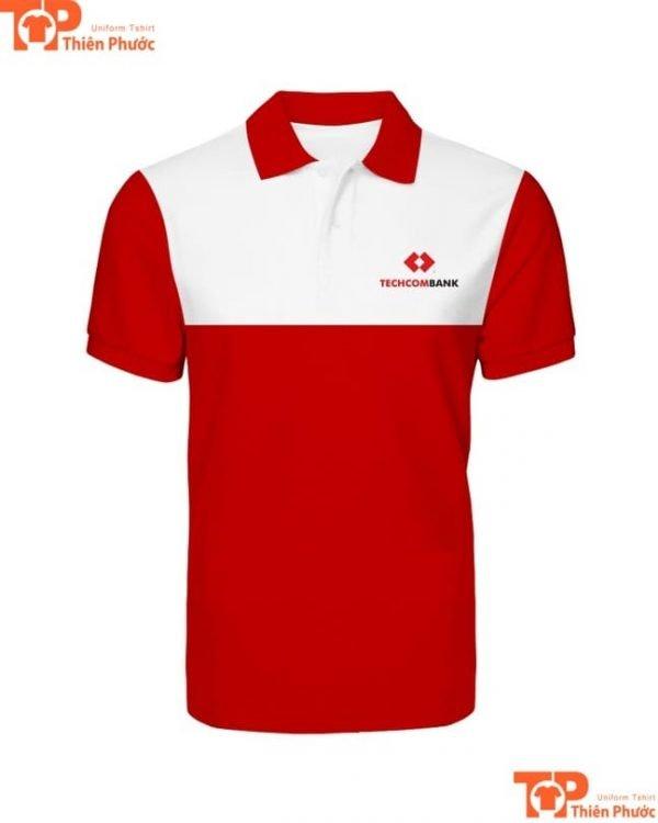 áo thun đồng phục ngân hàng techcombank