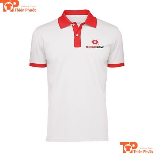 áo thun đồng phục ngân hàng techcombank hội sở