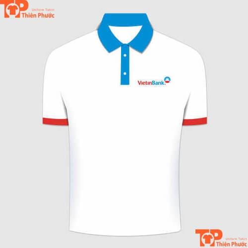áo thun đồng phục ngân hàng thương tín vietinbank