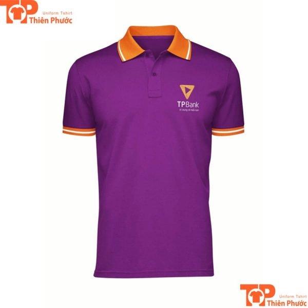 áo thun đồng phục ngân hàng tpbank