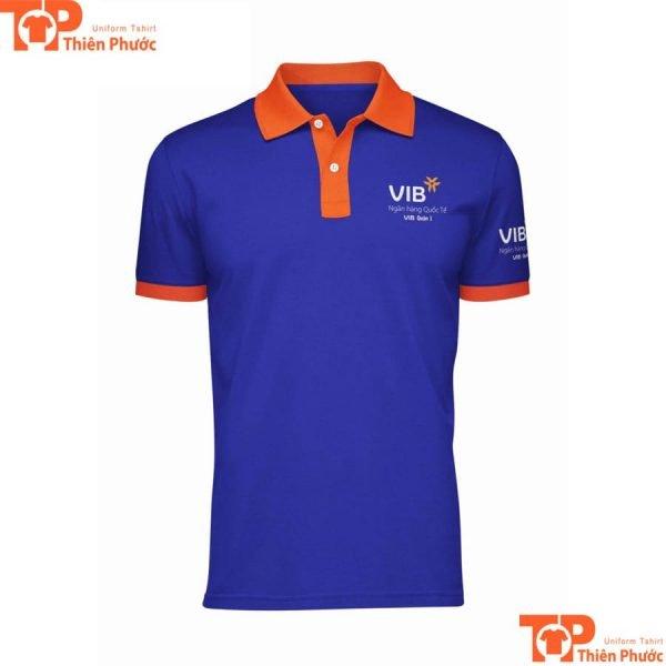áo thun đồng phục ngân hàng vib quốc tế