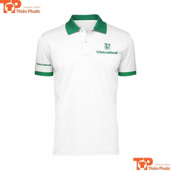 áo thun đồng phục ngân hàng vietcombank ngoại thương