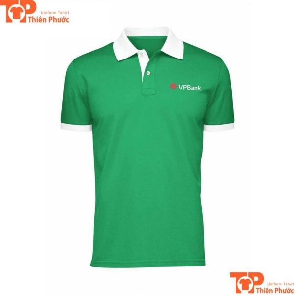 áo thun đồng phục ngân hàng vpbank hội sở